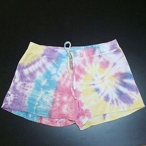 ERGE Girl's Tie Dye Shorts ,size L-14